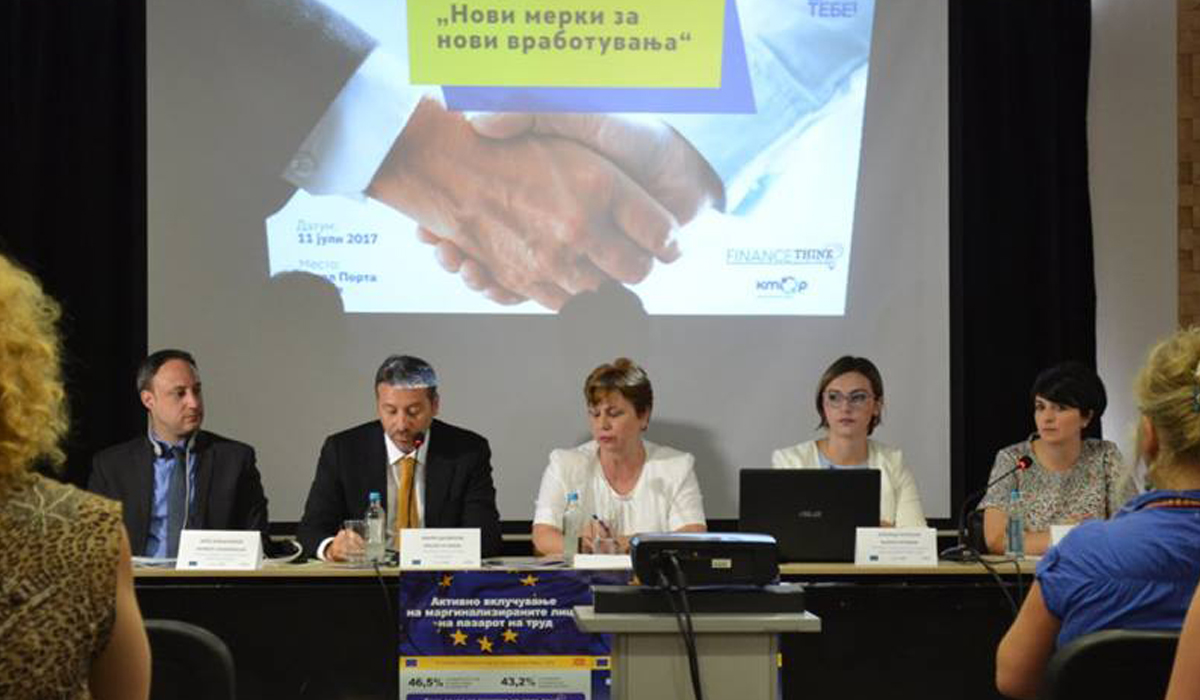 "Final conference ""New employment measures for new employment opportunities"""