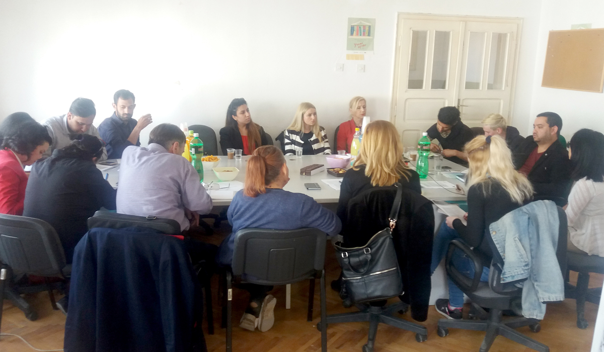 Qualitative analysis through local focus groups in Skopje, Kumanovo and Vinica