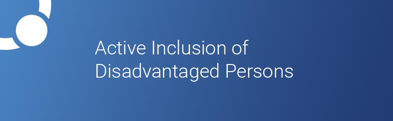 Promoting Active Inclusion of Disadvantaged Persons Excluded from the Labour Market
